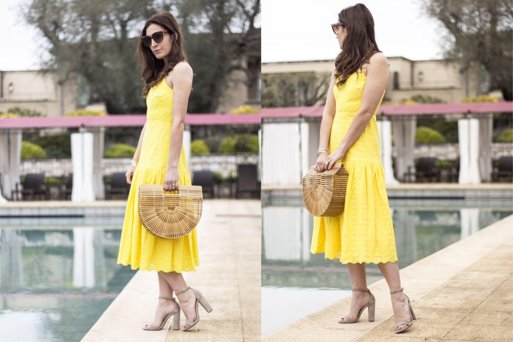 Vestito giallo