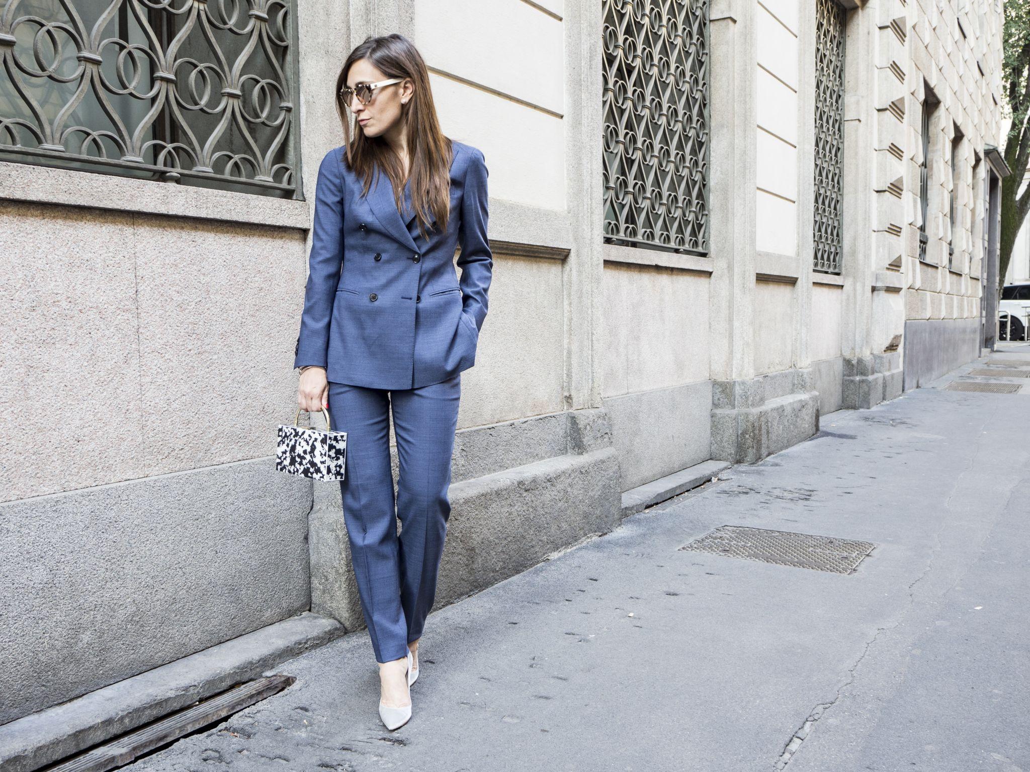 Tailleur Pantalone - Woman Suit