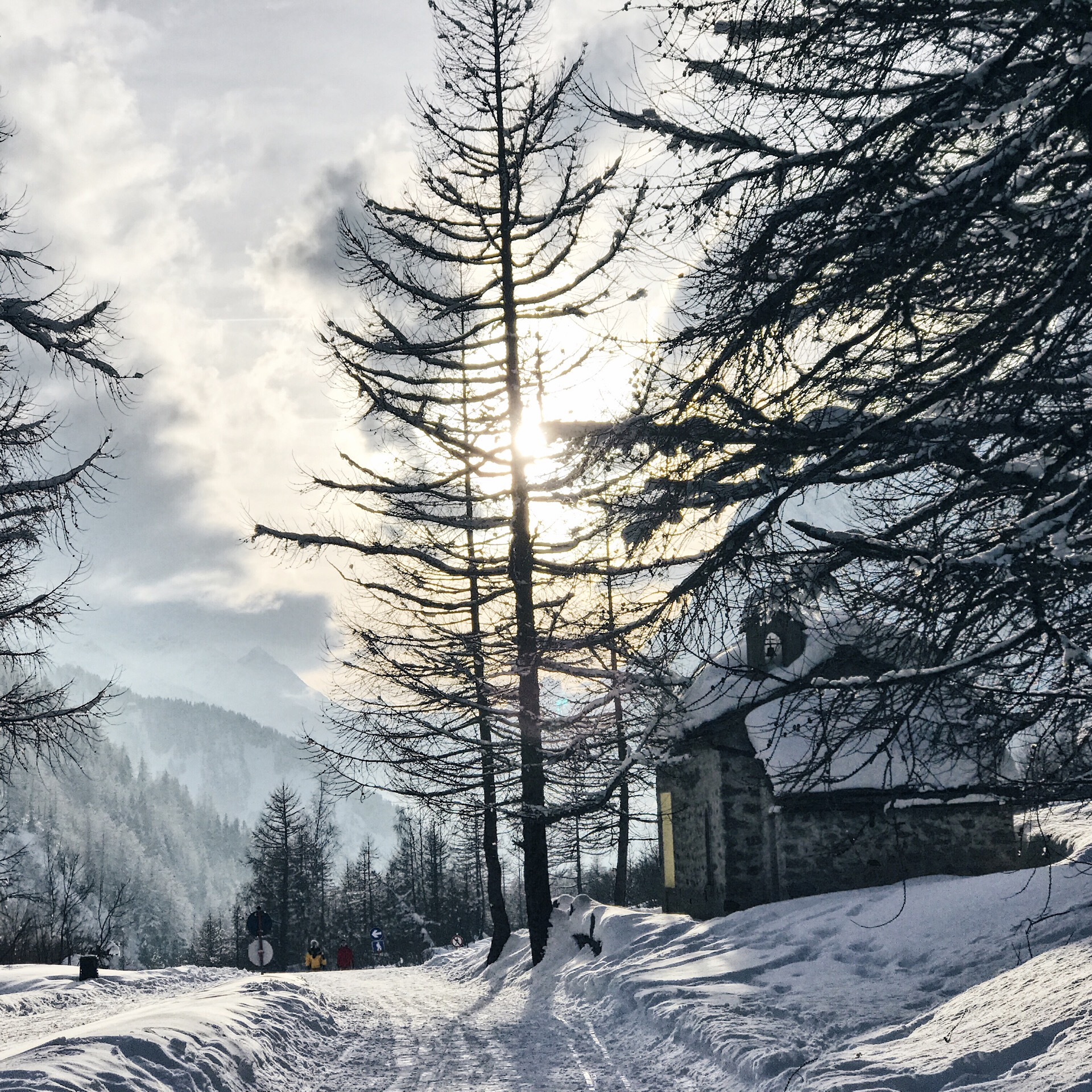 Val ferret Courmayeur winter vacanza invernale