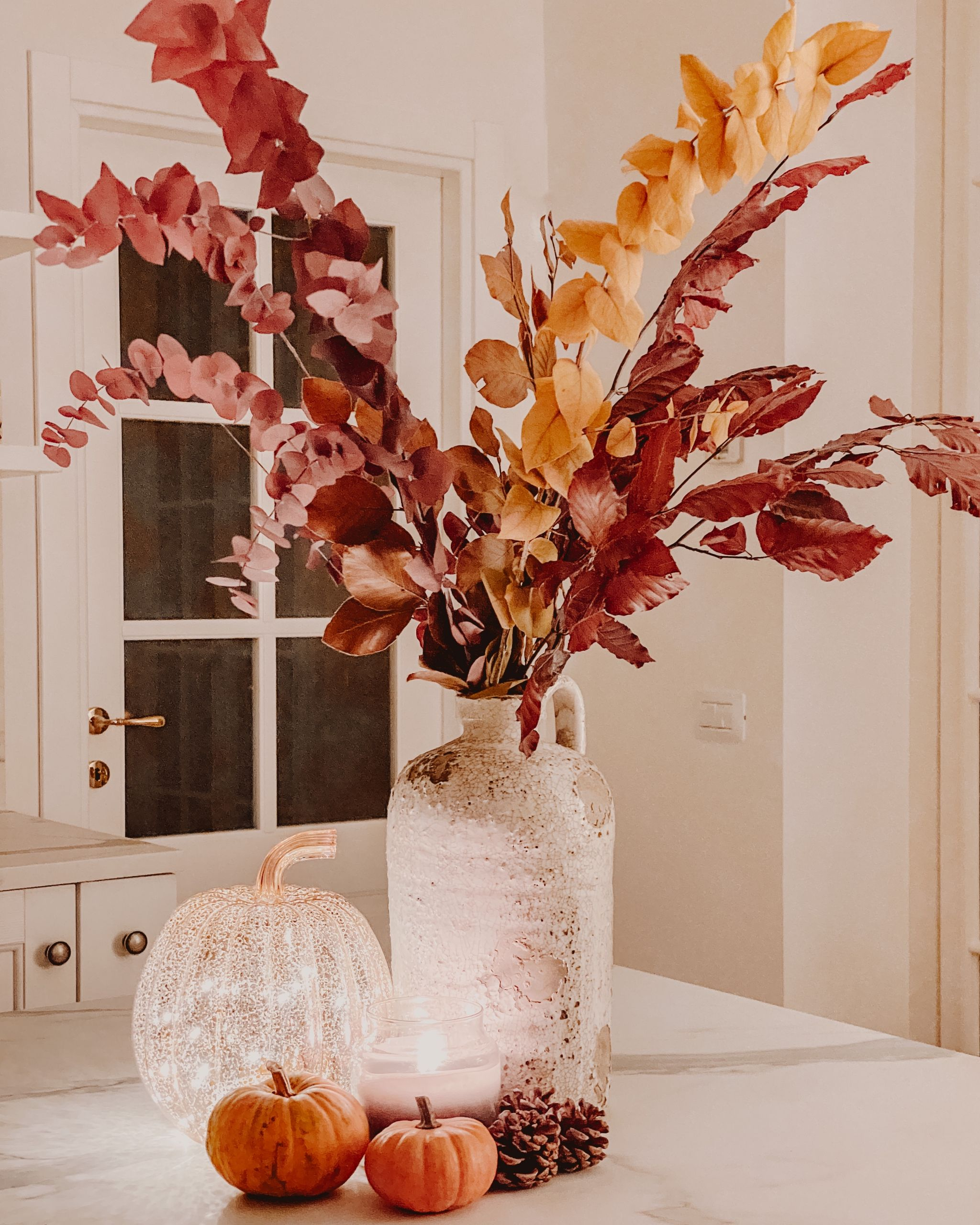 L'autunno in casa, tra decorazioni e atmosfere coccolone.